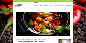 jalapeno ukázka designu webu